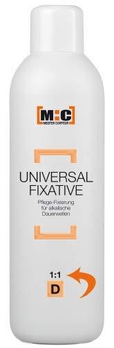 M:C Meister Coiffeur Universal Fixierung 1:1 - 1000ml - Pflege-Fixierung für alkalische Dauerwellen