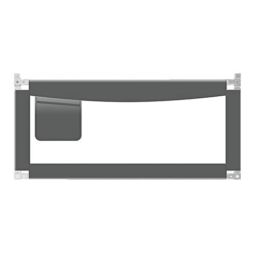 Barandilla de Cama Riel de Cama portátil Safety 1st, Gris Oscuro (Tamaño : L-180cm)