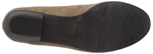 Jana 22202, Chaussures à talons - Avant du pieds couvert femme Gris - Grau (TAUPE SUEDE)