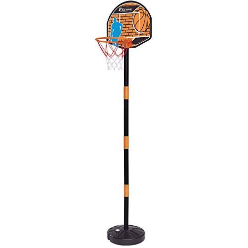 Basketball Set mit höhenverstellbarem Ständer 95-160cm Standfuß befüllbar • Basketballkorb ab 3 Jahren Basketballständer Streetball