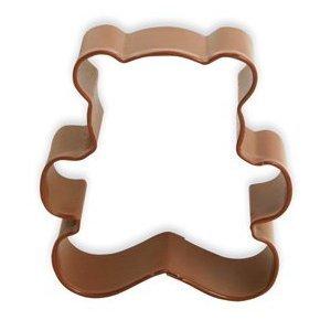 Emporte-pièce en forme d'ours en peluche marron 7,5 cm - par Eddingtons - 711401