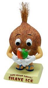 Hawaiano-Nuts-About-Hawaii-Bobble-Head-figura-decorativa-afeitado-ice-3-en