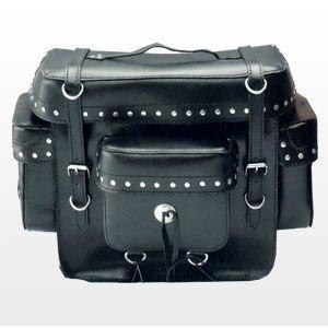 Top Case Satteltaschen Saddle Bags Borsa Moto Sacoches Cuir (Moto Chopper)