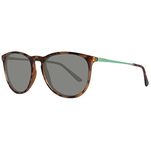 BENETTON BE983S02, Gafas de Sol Unisex, Trtois/Green, 50
