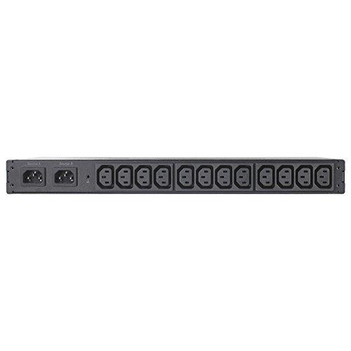 APC AP4421 Automatic Transfer Switch,12xC13 Steckdosen Schwarz