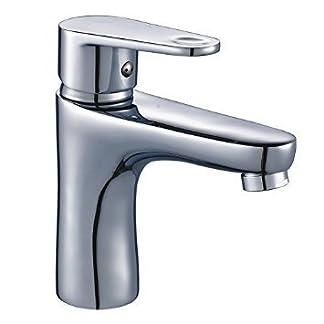 31Ja3oHUf%2BL. SS324  - DP Grifería ABE-01 Grifo monomando de lavabo, Plateado