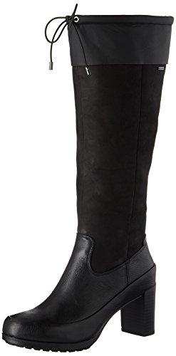 Clarks Londontown GTX, Botas para Mujer, Negro (Black Leather), 36 EU