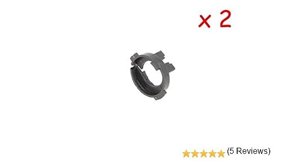 CARALL 2 pz Portalampada Kit Full Led e Kit Hid Xenon H7 foro 22mm