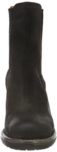 Shabbies Amsterdam Shabbies 15cm Chelsea Booty Caramato Sohle, Bottes Classiques femme Noir - Noir