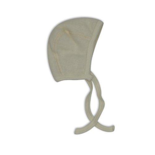 Cosilana Baby Häubchen / Mütze, Größe 74/80, Farbe Natur, Wollfleece 100%...