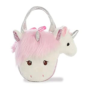 Aurora World 32856 - Peluche de Peluche, Color Blanco y Rosa