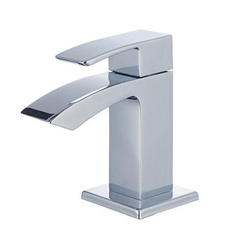 Lux-aqua Design Waschtisch Armatur für Kaltwasser Wasserhahn 12160HW3