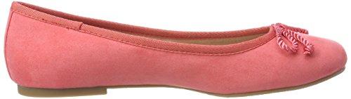 Tamaris Damen 22142 Geschlossene Ballerinas Rot (Coral)