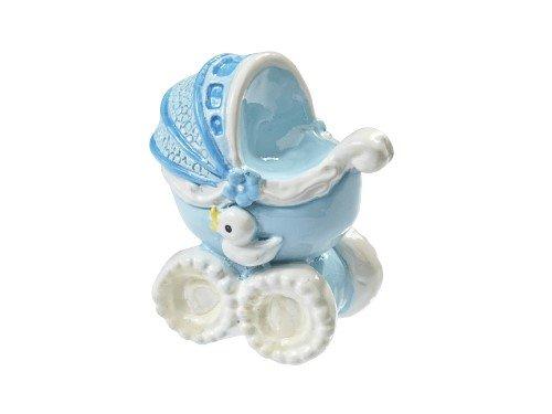 Kinderwagen - blau * Baby Geburt Taufe * Tortendekoration