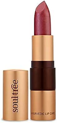 SoulTree Ayurvedic Lipstick - Colour Iced Plum 520, 4gm