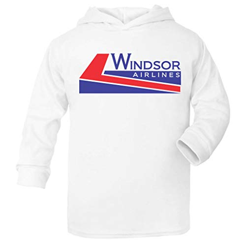 Cloud City 7 Die Hard Windsor Airlines Baby and Kids Hooded Sweatshirt