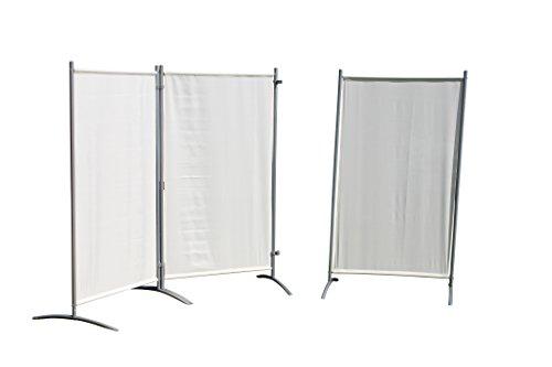 Leco Sicht- und Windschutz, Stellwand, natur, 260 x 156 x 1 cm, 05410103