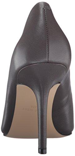 Nine West Jackpot Leather Pump Dress Gris