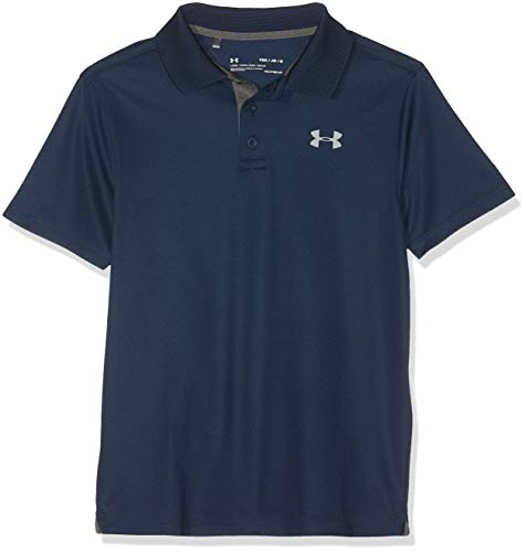 Under Armour Jungen Performance Polo Kurzarmhemd, Academy, XS (Under Armour-jugend Jungen)
