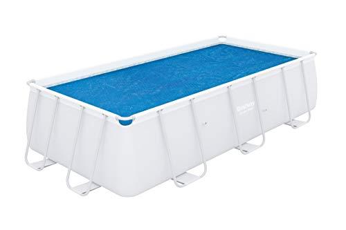 Bestway - Bâche solaire rectangulaire 380 x 180 cm pour piscine hors sol Power Steel 404 x 201 cm et 412 x 201 cm