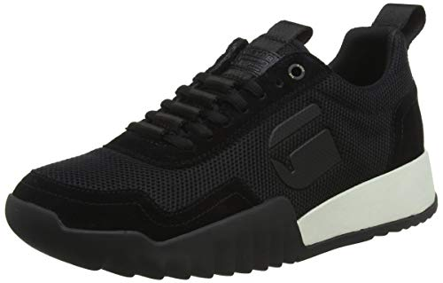 G-STAR RAW Herren Rackam Rovic Sneaker, Mehrfarbig (Black/White 964), 44 EU