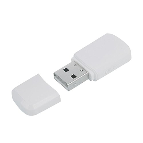 MagiDeal Antena Inalámbrica Receptor Adaptador de Wifi Usb de Dual-band 600mbps Para PC Blanco