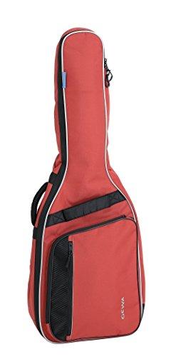 Gewa Economy 12 Konzertgitarre 3/4 und 7/8 Gigbag (rot) / reißfest und wasserabweisend