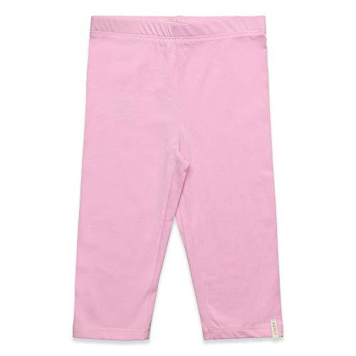 Rosa Capri Leggings (ESPRIT KIDS Mädchen Leggings Capri Leggings, per Pack Rosa (Candy Pink 300), 116 (Herstellergröße: 116+))