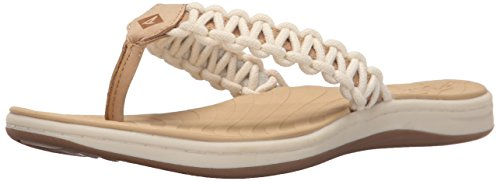Sperry Top-Sider Women's Seabrook Current Navy Fisherman Sandal - Topsider Leinen Sperry
