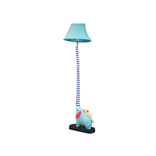 Lampadaire Mignon dessin animé créatif nez comme chambre lumières salon chambre d'enfants Pastorale tissu lampadaire A+