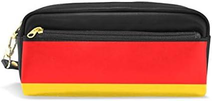 Malplena Drapeau de de de l'Allemagne pour stylo Cuir papeterie Maquillage Sacs B07GKRL5T2 | Outlet Store  d32bbc