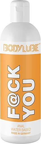 BODYLUBE® F@CK YOU   Gleitgel auf Wasserbasis für den Analbereich   Premiumqualität (1000 ml)