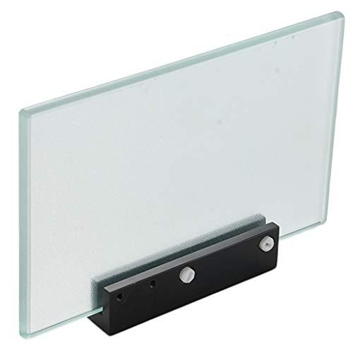 ideal passend zum Glaseckregal Diana casa pura/® Glasregal Gina 40x30x134cm mit 5 B/öden aus Sicherheitsglas