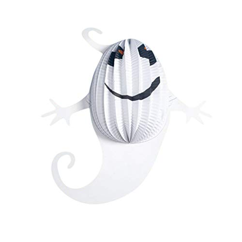Heetey Halloween Dekoration Mode Halloween hängen Indoor/Outdoor Party Dekor Spielzeug Kinder Geschenk Halloween-Spinnen-Kürbis-Dekorations-hängende Stangen-Atmosphären-Anordnungs-Papierdekoration (Cartoon Zeichen Kostüm Für Partys)