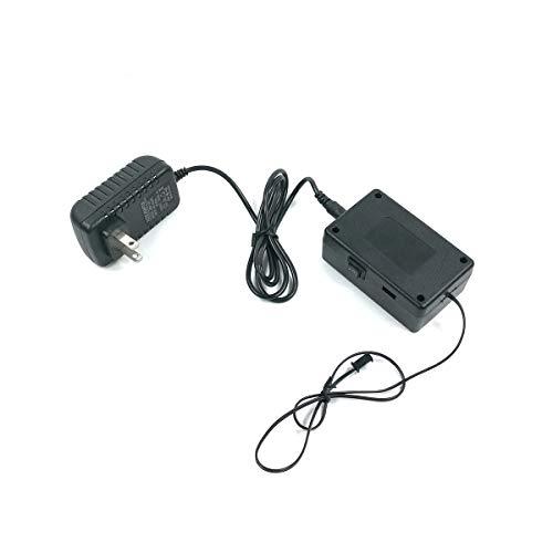TianranRT 220V 30M EL Draht Wechselrichter mit blinken Geschwindigkeit und Helligkeit Kontrollen enthält (A,30M)