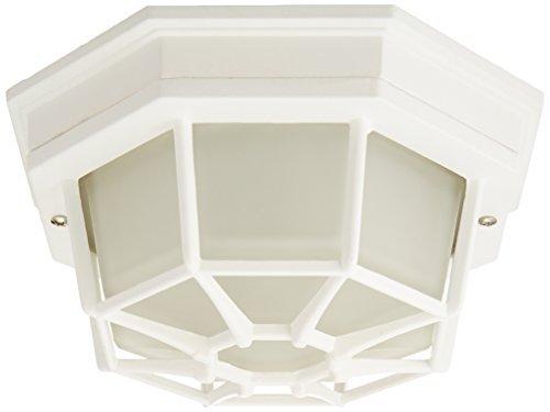Trans Globe Lighting 40581 WH 4-Inch 1-Light Small Flush Mount, White by Trans Globe Lighting -