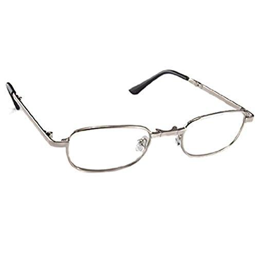 ROSENICE Lesebrille +3.50D Faltbare Lesebrille Anti-Ermüdung presbyopische Gläser Frauen Männer Lesebrillen