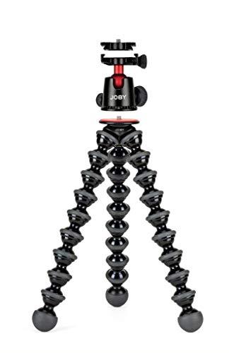 Joby GorillaPod 5K Kit Digitales/cámaras de película 3pata(s) Negro tripode - Trípode (Digitales/cámaras de película, 5 kg, 3 Pata(s), Negro, Ball, 1/4')