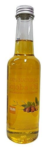 Yari 100% naturel huile de jojoba Pour Corps et Cheveux 250ml