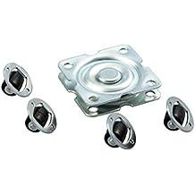 Rodamiento Axial de Bolas con Placa Rotatoria 57 X 57mm Möbel-drehbeschlag 360° Plato