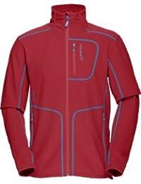 Norrona Fleece Jackets Lofoten Warm1 Jacket Red M