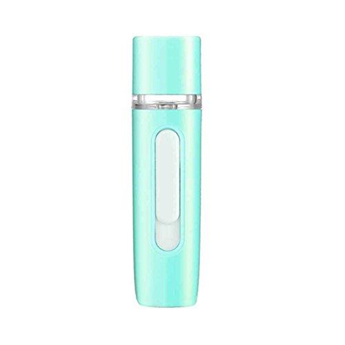 LUFA Mini-Handheld 2-in-1 Nano Mist Gesichtsdampfer Sprayers USB aufladbare Energien-Bank-bewegliches - Gesichts-dampfer-maske