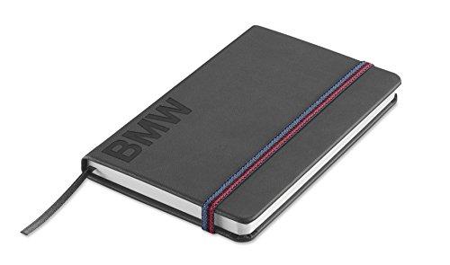 bmw-genuine-wordmark-paper-writing-notebook-bookmark-logo-space-grey-80242411117