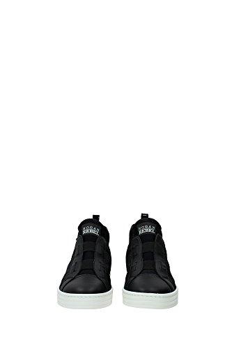 HXW1820V990ELV0564 Hogan Sneakers Femme Cuir Noir Noir