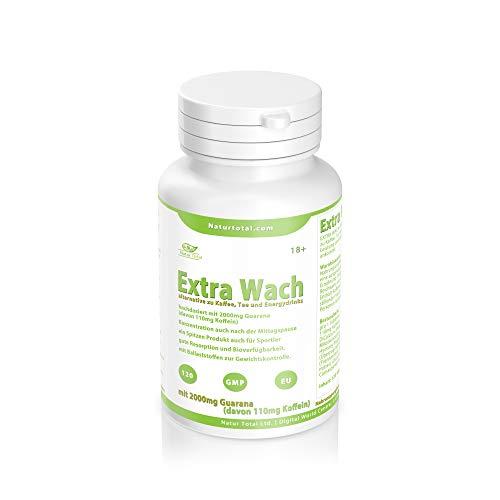 EXTRA WACH 2000 - die alternative zu Kaffee, Tee und Energydrinks. Mit Guarana und natürlichem Koffein