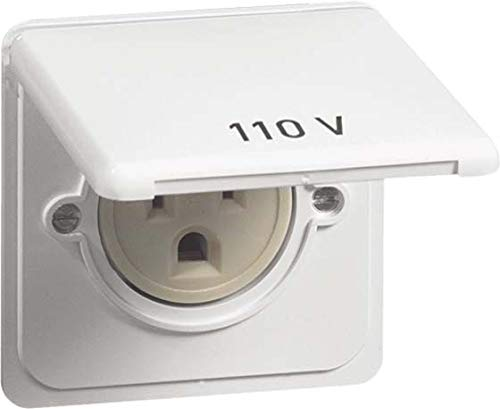 peha US NEMA-Steckdose D 80.6670/20 US K W KD,20A 125V, weiß Standard Steckdose 4010105479812