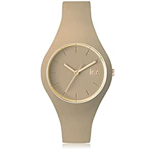 Ice-Watch - ICE glam forest Carribou - Montre beige pour femme avec bracelet en silicone - 001057 (Small)