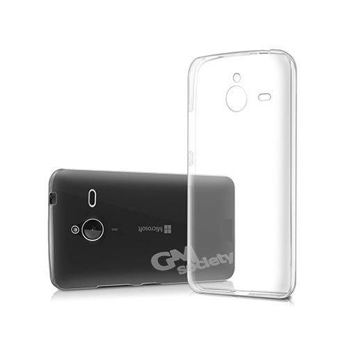 TAKEON® - Lumia 640 XL Cover Trasparente Custodia Silicone Gel Sottile Leggera Ultra Slim 0,3mm - Cover Trasparente Lumia 640 XL Nokia - Xl Silicone
