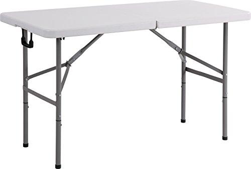 Serena Group Archimede Tisch rechteckig PIEGHEV cm 122x 61Polyethylen und Stahl lackiert
