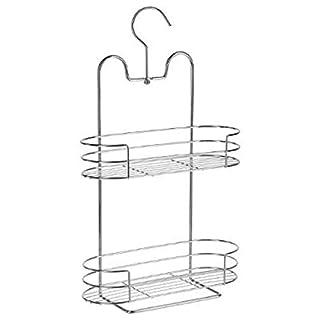 amara-global PM2 Shower Shelf Stainless Steel Shower Basket for Hanging 2 Shelves